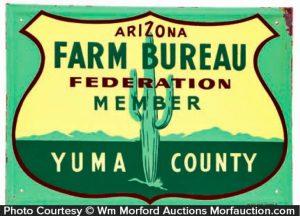 Arizona Farm Bureau Sign