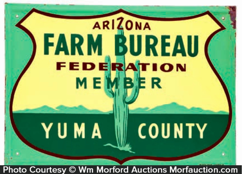 Arizona Farm Bureau Sign