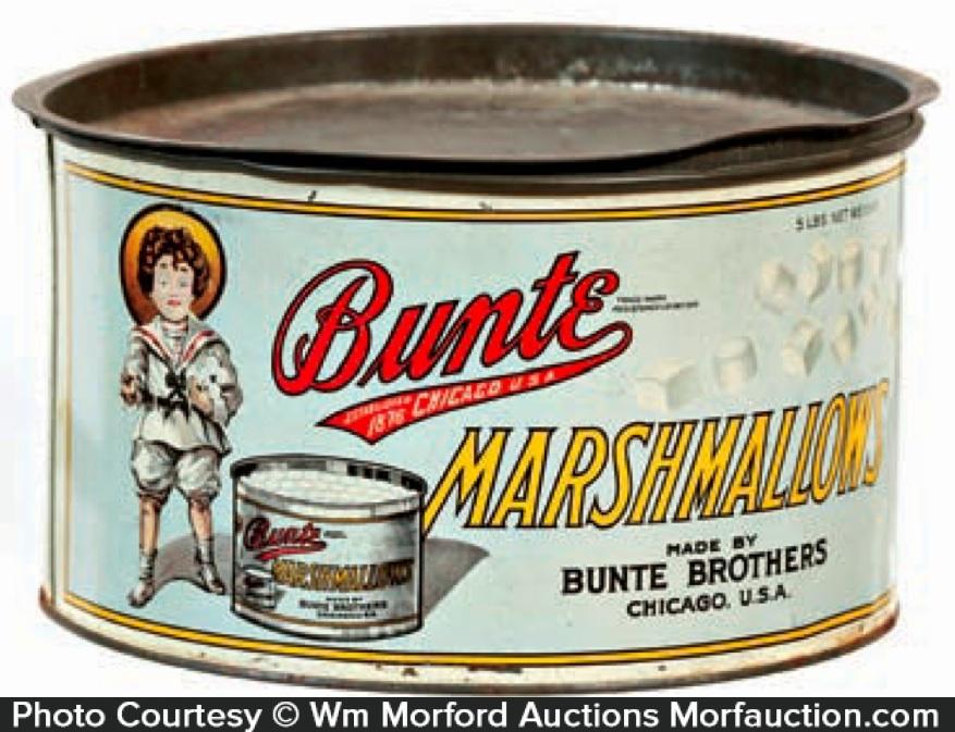 Bunte Marshmallows Tin