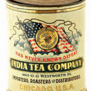 India Tea Company Coffee Tin