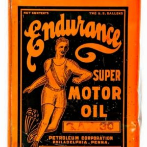 Endurance Motor Oil Can