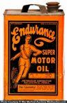 Endurance Motor Oil Can