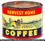 Harvest Home Coffee Can