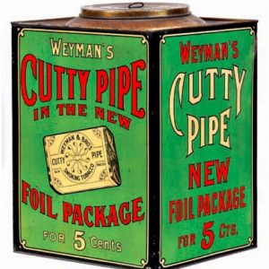 Cutty Pipe Tobacco Bin