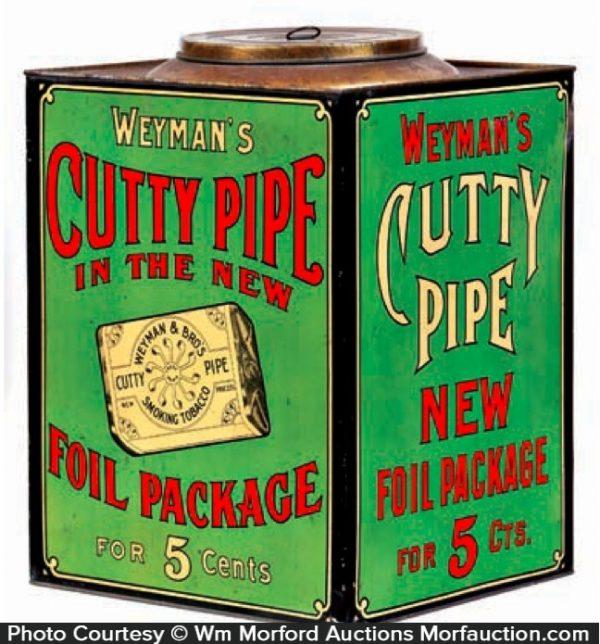 Cutty Pipe Tobacco Bin