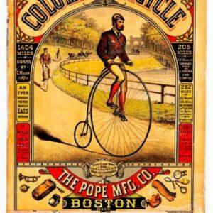 Columbia Bicycle Sign