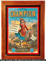 Champion Havana Cigar Sign