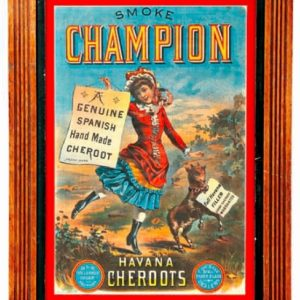 Champion Havana Cigar Sign