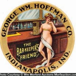 Hoffman Barkeeper's Friend Mirror