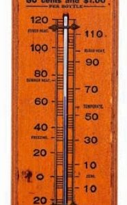 Wizard Oil Thermometer