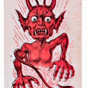 Scare You Devil Tobacco Poster