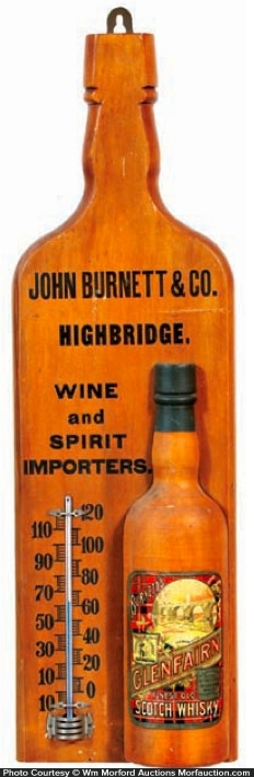Burnett Highbridge Whiskey Thermometer