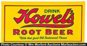 Howel's Root Beer Sign
