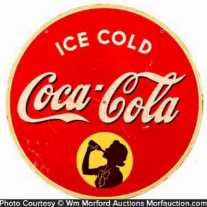 Ice Cold Coca-Cola Sign