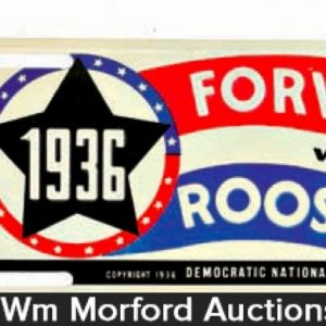 Roosevelt Political Auto Tags