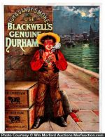 Blackwell's Durham Tobacco Sign