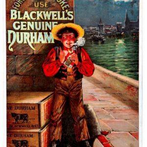 Blackwell's Durham Tobacco Sign