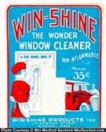 Win-Shine Window Cleaner Display