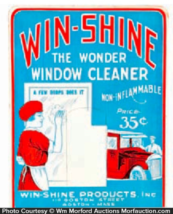 Win-Shine Window Cleaner Display