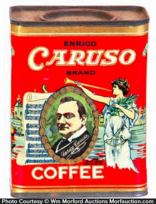 Caruso Coffee Can