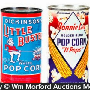Vintage Pop Corn Tins