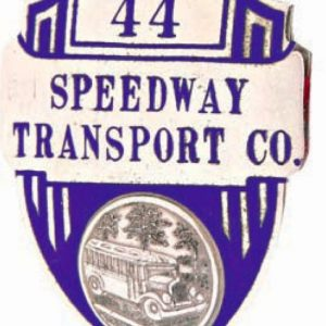 Speedway Transport Badge