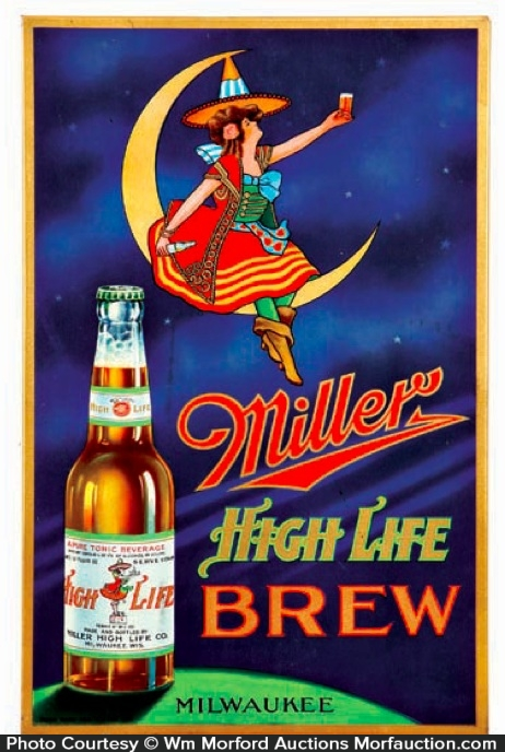 Miller Highlife Brew Sign