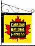 Canadian National Express Sign
