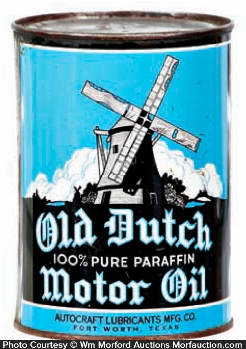 Old Dutch Oil Can