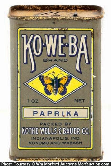 Koweba Spice Tin