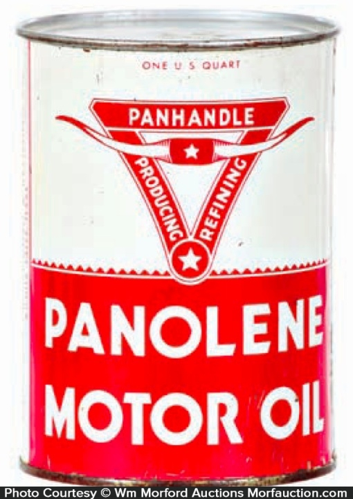 Panolene Oil Can