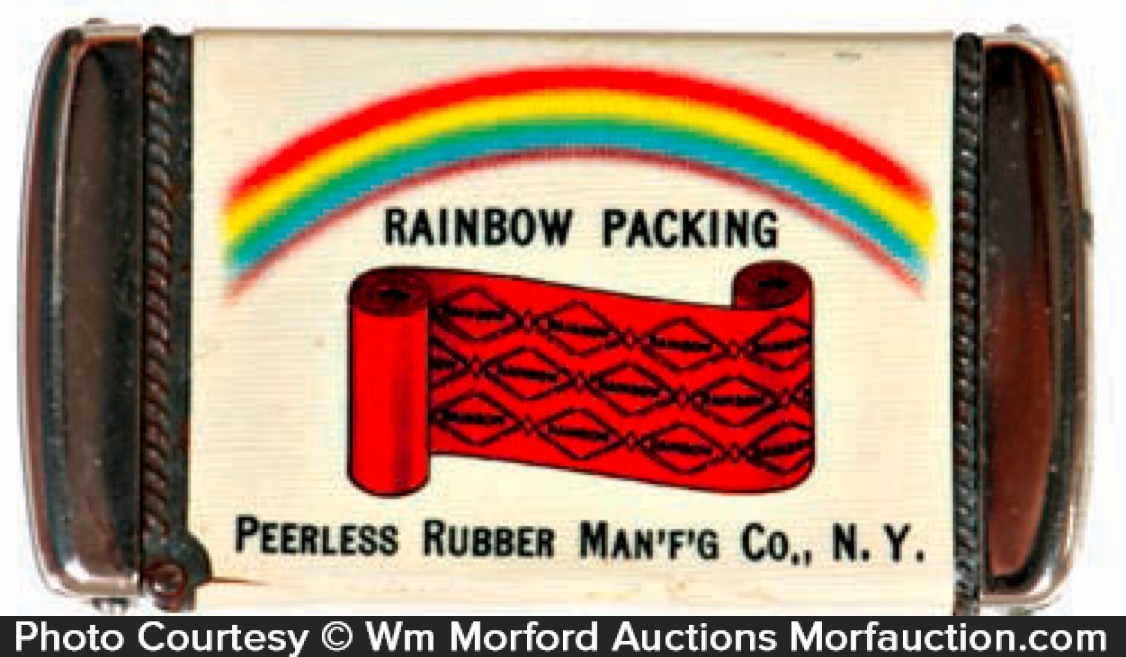 Peerless Rainbow Packing Match Safe