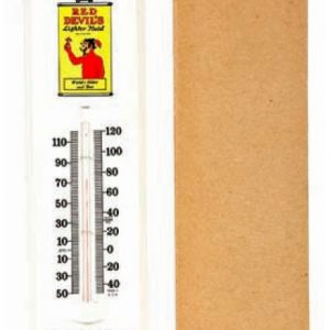 Red Devil Lighter Fluid Thermometer