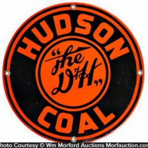 Hudson Coal D & H Sign