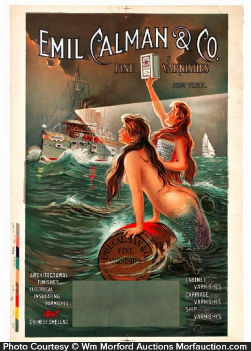 Emil Calman Mermaid Sign
