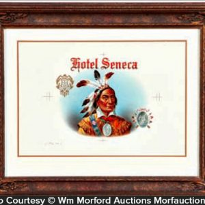 Hotel Seneca Cigar Proof Label