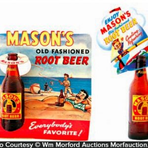 Mason's Root Beer Bottle Toppers