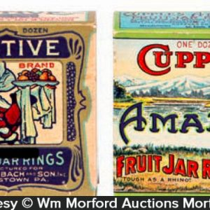 Vintage Jar Rubbers Boxes