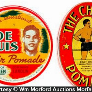 Hoe Louis Hair Pomade Tins