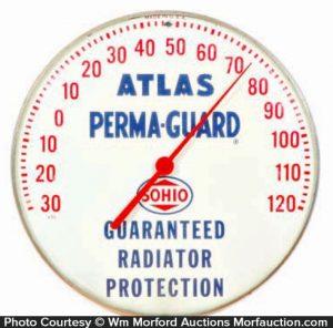 Atlas Perma Guard Sohio Thermometer