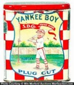 Yankee Boy Tobacco Tin