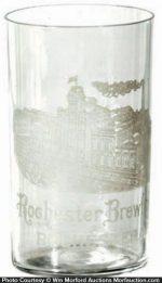 Rochester Brewing Company Glass