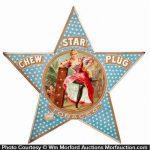 Star Plug Tobacco Sign