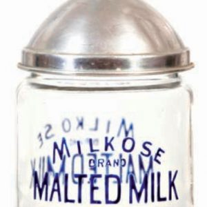 Milkose Malted Milk Jar