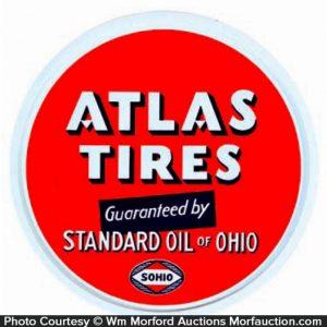 Atlas Tires Sohio Sign