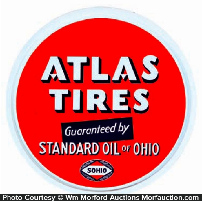 Atlas Tires Sohio Sign