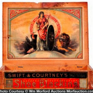 Swift & Courtney's Shoe Blacking Box