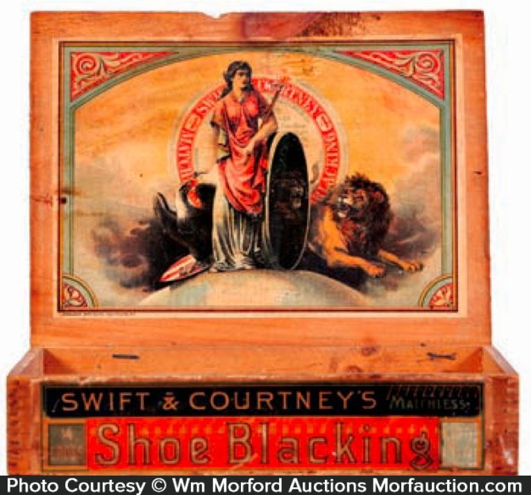 Swift & Courtney's Shoe Blacking Box
