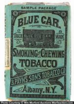 Blue Car Tobacco Pack