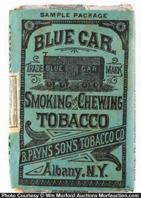 Blue Car Tobacco Pack